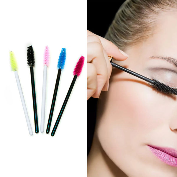 50Pcs/Pack Disposable Eyelashes Brushes