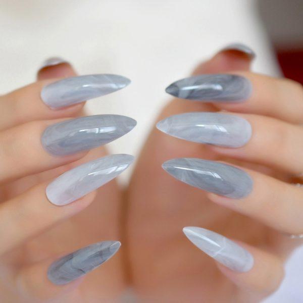 Extra long Stiletto Fake Nails