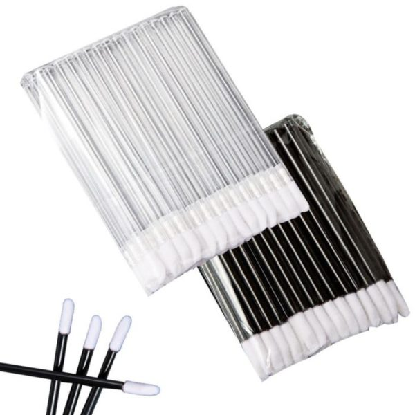 50pcs Disposable Lip Brush