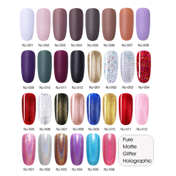 3.5ml Nail Polish – 66 Colors – Fast Dry