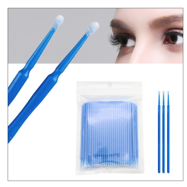 100pcs Disposable Eyelash Extension Tools